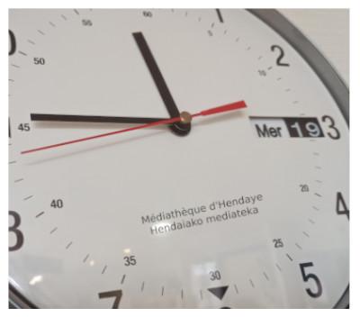horaires médiathèque d'Hendaye